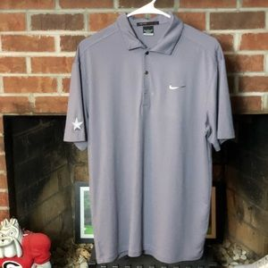 Nike Tiger Woods Collection Polo Dallas Cowboys
